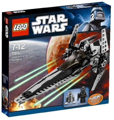 Lego Star Wars 7915 Imperial V Wing Starfighter