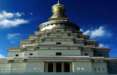 Bendigo Tourism - The Great Stupa of Universal Compassion. Victoria. Australia