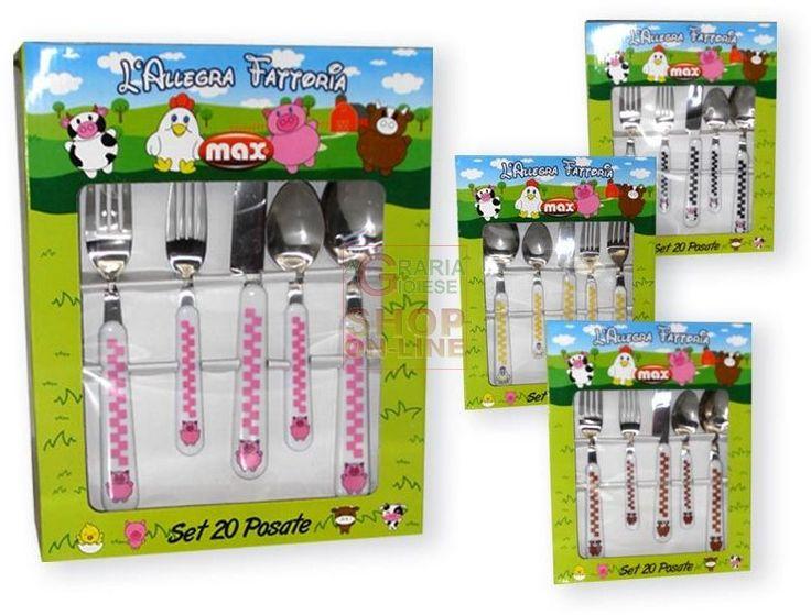 MAX SET 20 PZ POSATE ALLEGRA FATTORIA https://www.chiaradecaria.it/it/max/12072-max-set-20-pz-posate-allegra-fattoria-8017365024727.html