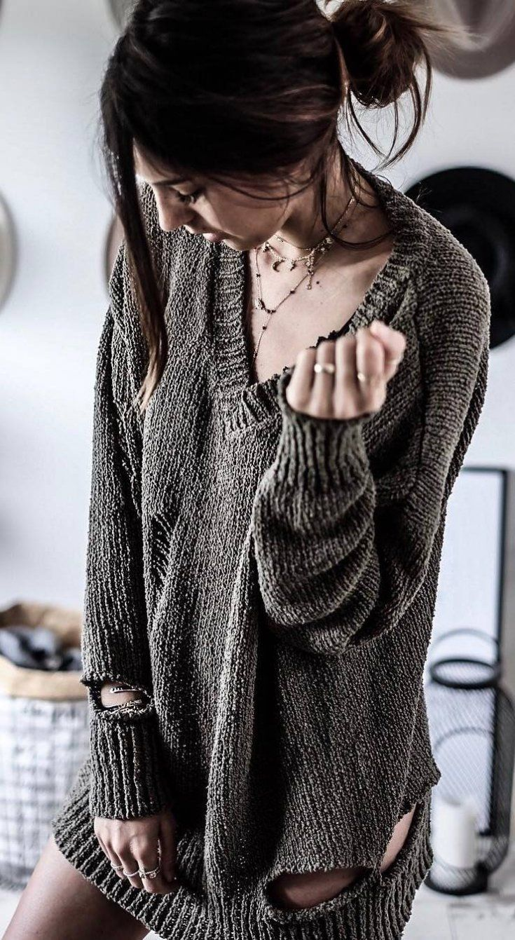 how to style a sweater weather