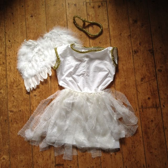 Craft Advent: Day 18: No-Sew Nativity Angel Costume |Where Wishes Come From