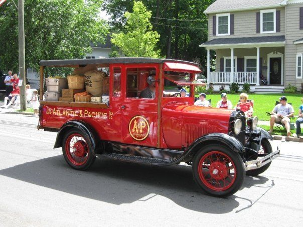 1928 Ford Model A Great Atlantic & Pacific Tea ( A&P ) Huckster Delivery Truck for sale: photos, technical specifications, description