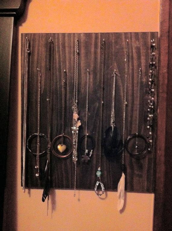 Great way to organize your jewelry!