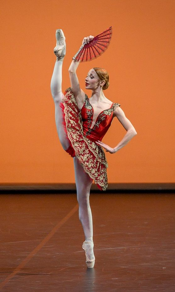 Iana Salenko Don Quixote during the Ballet Gala 'Malakhov and Friends The Final' (2014). Photo by Jack Devant