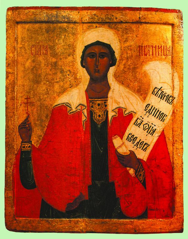 XVI в.  Параскева Пятница.