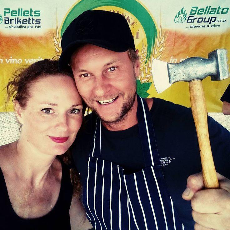Já to říkám pořád..holka na zabití...@marcelihnacak #varimesmarcelem #cookingshow #pivobrani #mikulov #pohoda #leto #lovefood #foodie