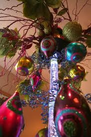 Happy colors! Bought some of these ornaments Christmas 2011