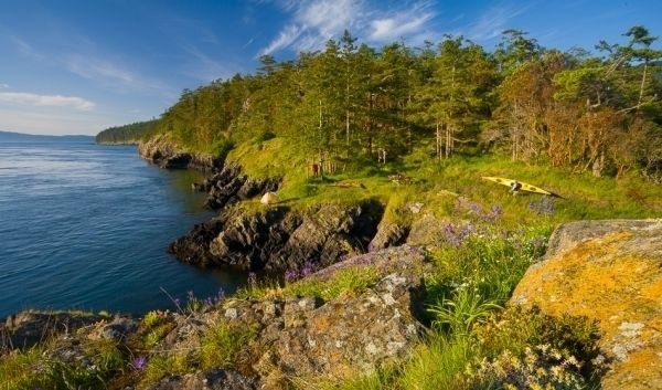 San Juan Islands have quite a few hidden gems.  Yellow Island would have to be one that I would take the time to uncover when in the area.