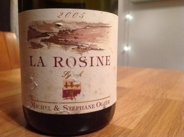 05 La Rosine #Ogier #wine Syrah-ously lush drinking right now. Merci @CoteRotieOgier