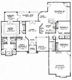 americas best house plans florida plan 4766 00113 2409 sq ft 1