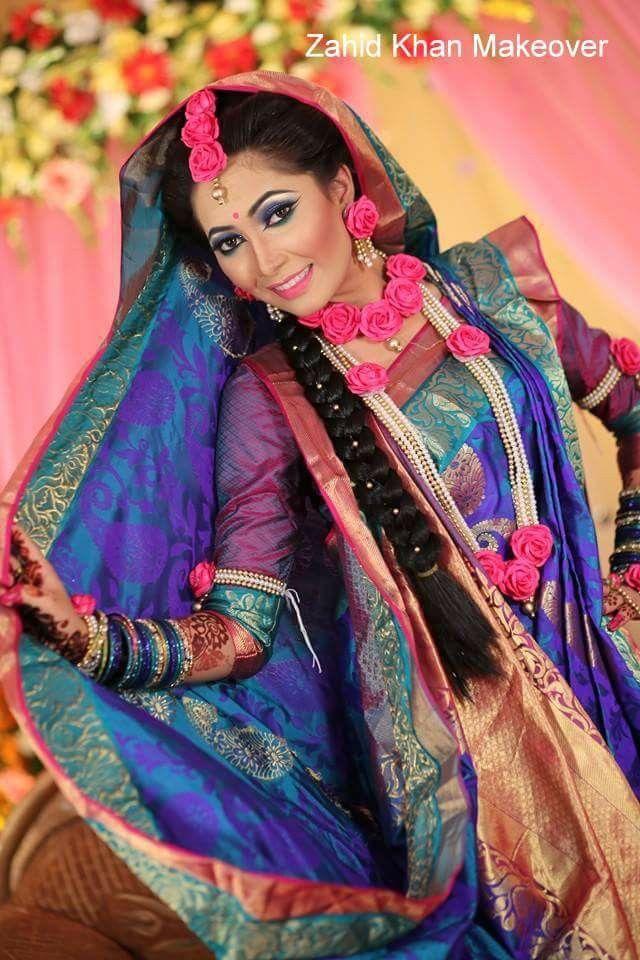 Bangladeshi bride#holud ceremony attire#zahid khan makeover