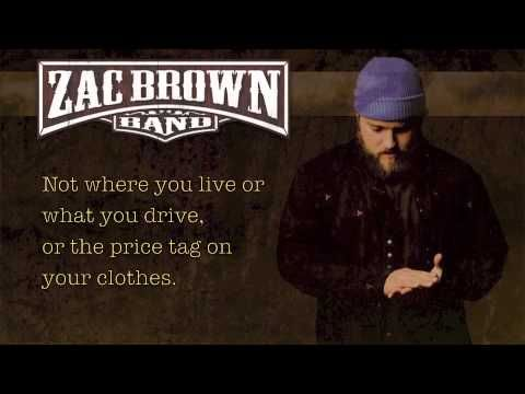 ▶ Zac Brown Band - Chicken Fried Lyrics