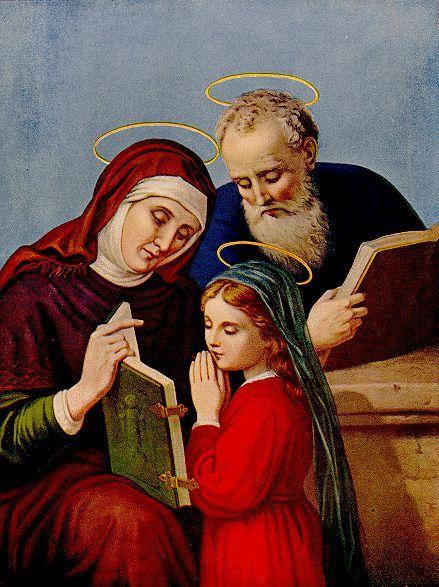 St Joachim, St Ann and Mary