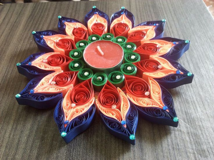 T lite holder, good idea for festival esp diwali