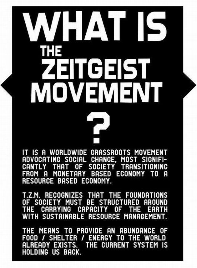 Zeitgeist Addendum     A Critical Look The Zeitgeist Movement     Australia