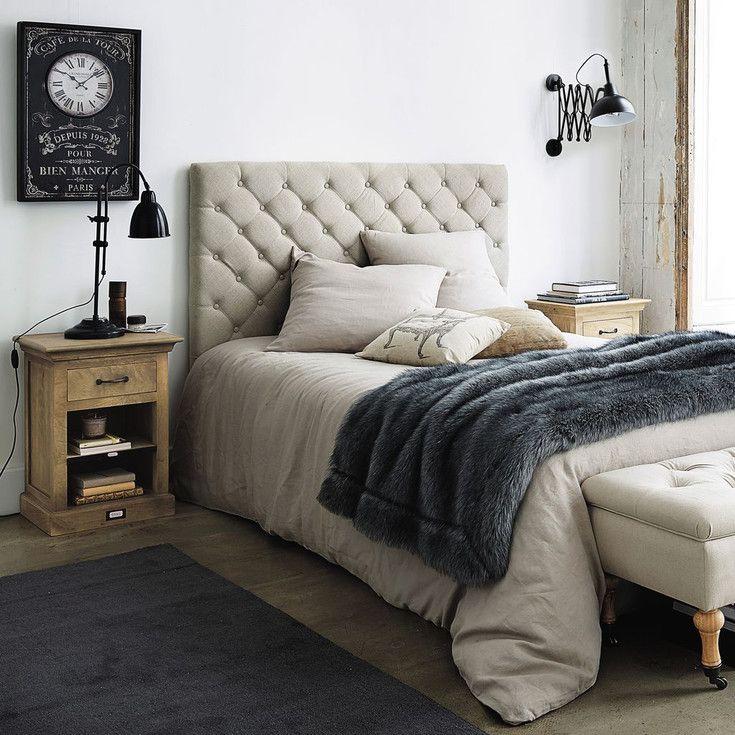 meubles style classique et classique chic maisons du monde chambre coucher pinterest. Black Bedroom Furniture Sets. Home Design Ideas