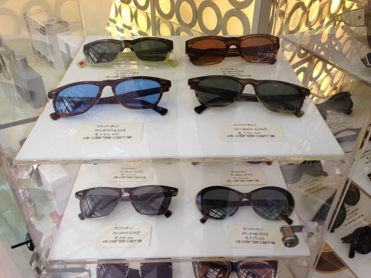 Milano 6769 Eyewear Collection inside Corso Como 10 Luxury Shop Now in our Newtown location!