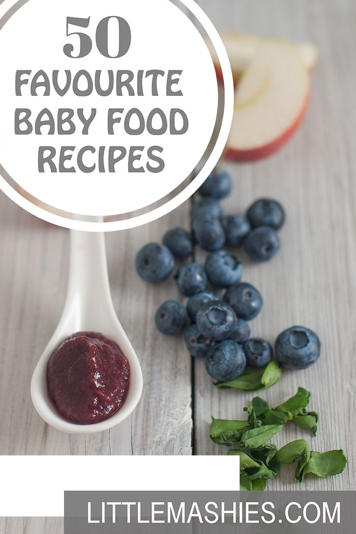 Little Mashies Apple, Blueberry & Spinach Puree - 50 Favourite baby weaning baby food recipes littlemashies.com/free