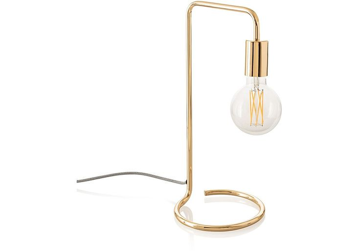 Metallic touches are still really on trend for next year, introduce some glamour with a stunning Gold Celio table lamp from Oliver Bonas