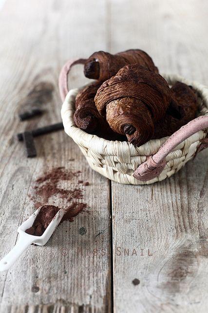 chocolate croissants..