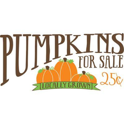 Burton Avenue: Freebie Friday - Pumpkins for Sale