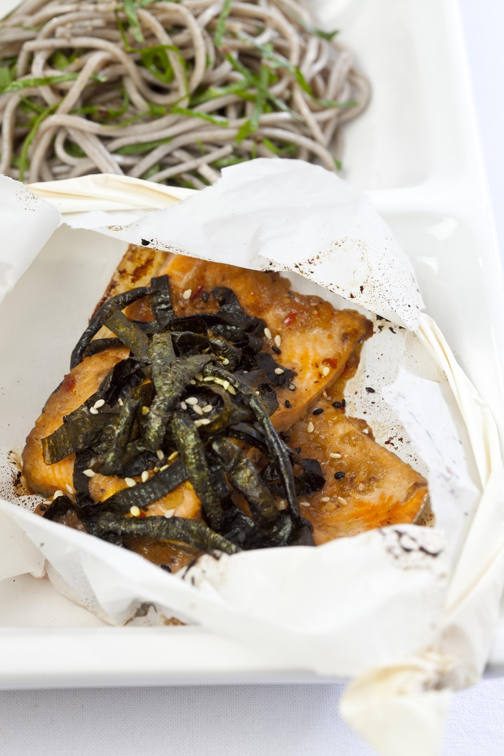 Miso-Glazed Trout served with soba noodles is a great heart-heatlhy omega-3 boost meal. alive.com