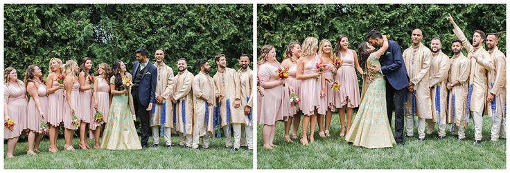Multicultural, Pink and Gold, Jewish and Hindu Wedding | Savannah Smith Photography