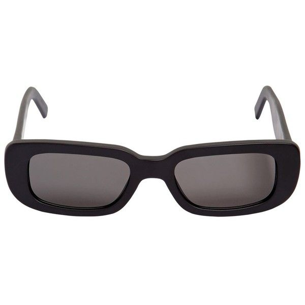 ee836bc6 Off White Women Rectangle Frame Acetate Sunglasses ($325) ❤ liked ...