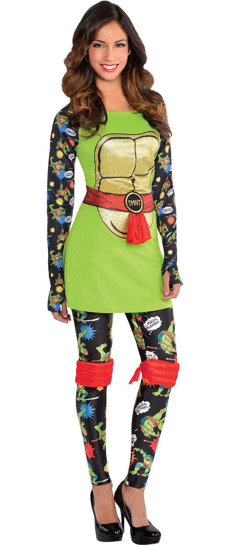 Create Your Own Look Female Teenage Mutant Ninja Turtle