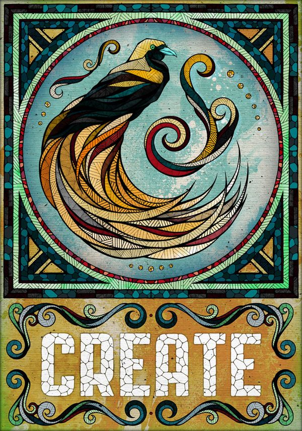 Alive by Andreas PreisArtists, Book Of Shadows, Behance, Graphics Design, Animal Illustration, Prints, Birds, Create, Andrea Prei