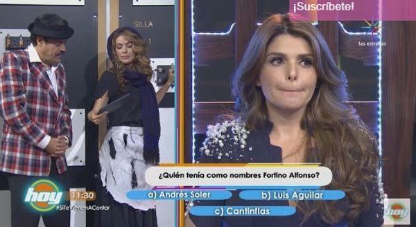 Itatí Cantoral dice en programa HOY