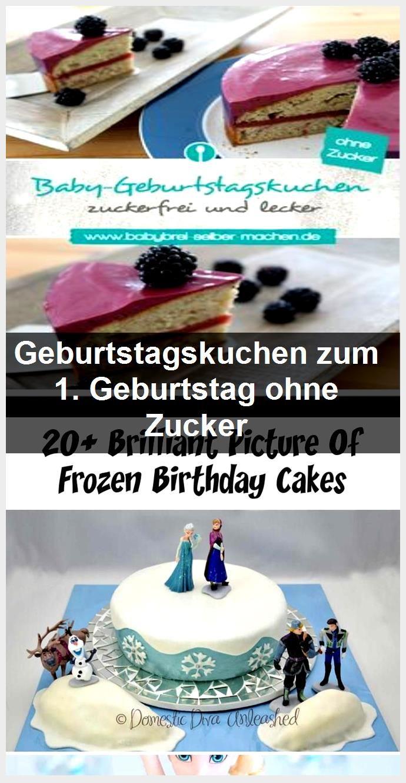 Geburtstagskuchen Zum 1 Geburtstag Ohne Zucker