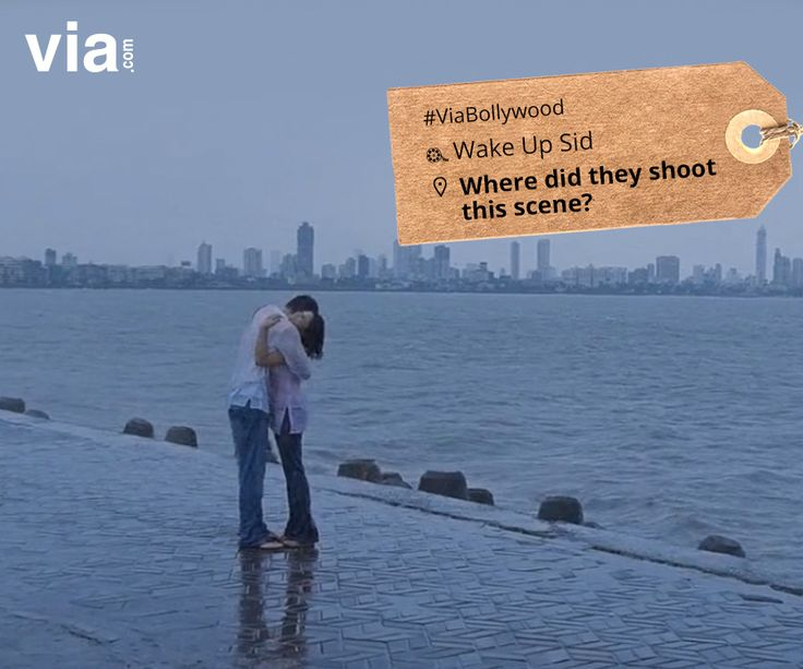 Where did they shoot this scene from Wake Up Sid? #ViaBollywood