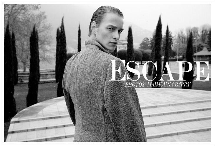 Robbie Lee by Maimouna Barry for MMScene #editorial #model #fashion