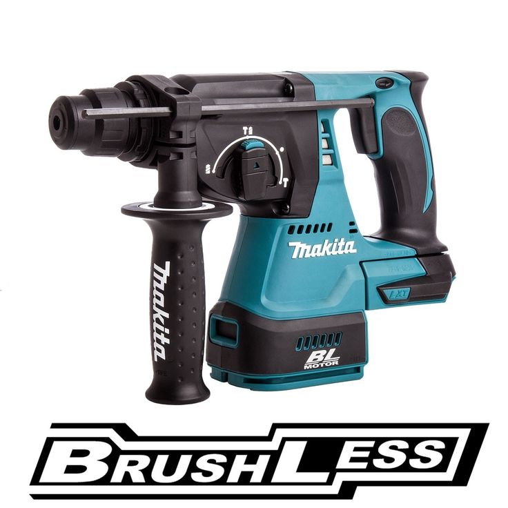 MAKITA DHR242Z 18V SDS PLUS BRUSHLESS ROTARY HAMMER DRILL One touch slide chuck for SDS-plus bit. 3 mode operation.Body Only...0088381654326