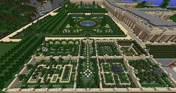 Minecraft garden layout design ideas 11082 garden design for Garden designs minecraft