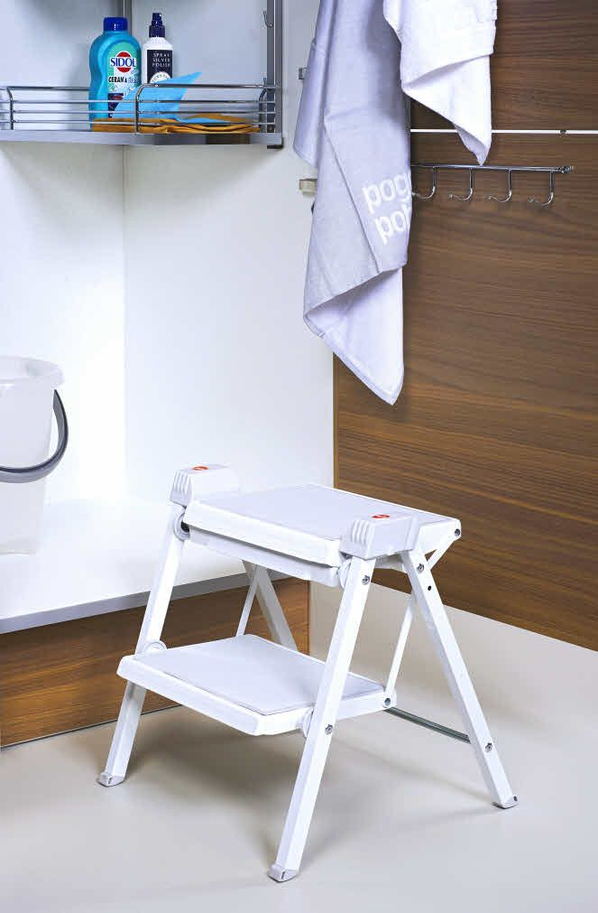Fold Away Step Ladder Folded Out Poggenpohl Kitchen