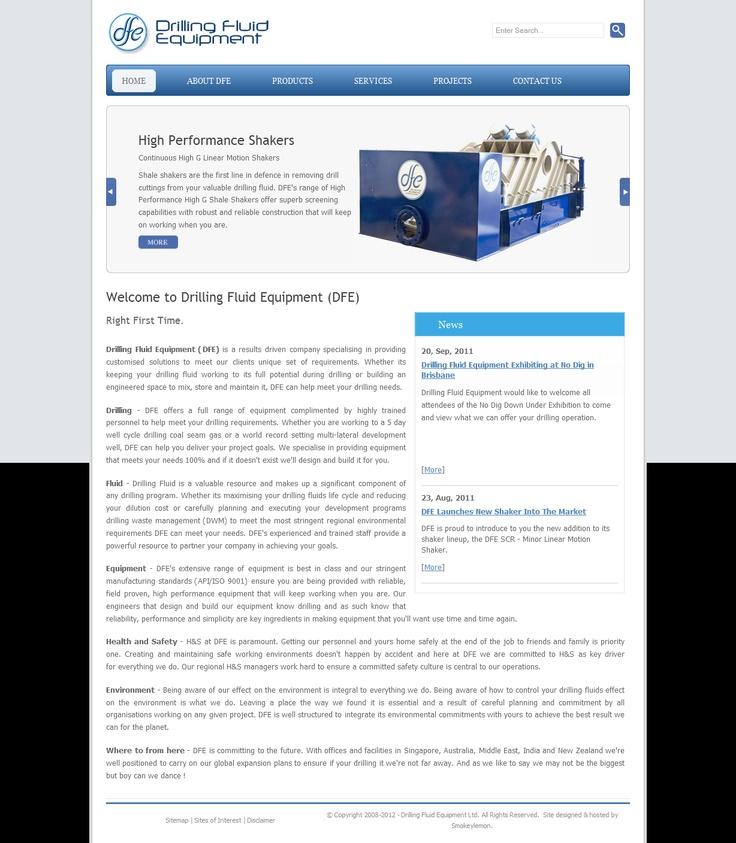 DFE - Showcasing products built by drilling fluid equipment NZ Ltd