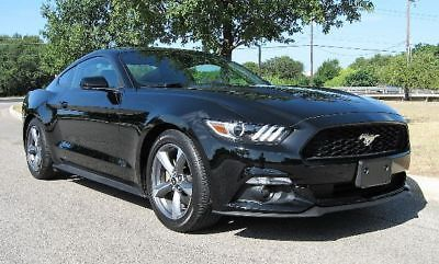 eBay: 2016 Ford Mustang V6 Coupe 2D 2016 Ford Mustang V6 Coupe 2D 22100 Miles Black Coupe V6, 3.7 Liter Auto, 6-Spd #fordmustang #ford