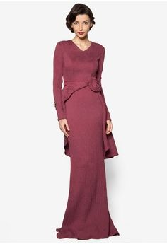 Kerri Dress from Jovian Mandagie for Zalora in red_1