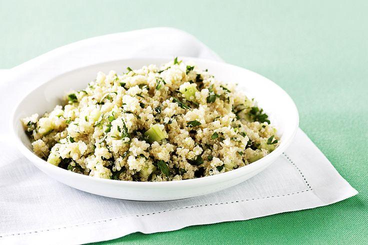 Parsley and quinoa salad http://www.taste.com.au/recipes/24740/parsley+and+quinoa+salad