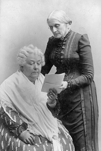 In November 1920, over eight million women voted for the first time after the 19th Amendment was passed, as a result of efforts led by Elizabeth Cady Stanton and Susan B. Anthony. (photo: Library of Congress)