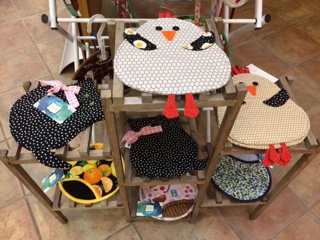 The Friends of the Waunakee Library are selling some homemade potholders for $8.00 and $10.00.  They are very adorable and are selling fast!