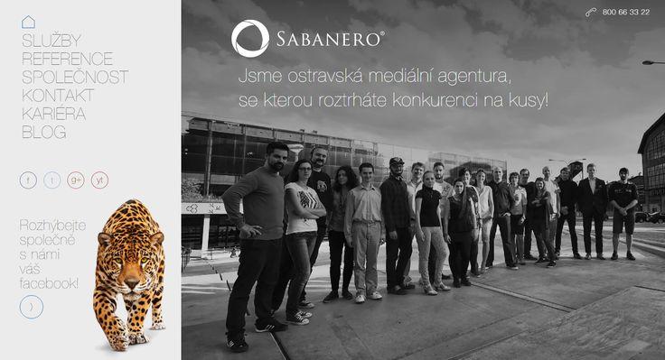 Jdeme s novou kůží na trh. Co říkáte na náš nový web? :-) Prohlédněte si ho celý ➡ www.sabanero.cz a klidně nám dejte zpětnou vazbu. #web