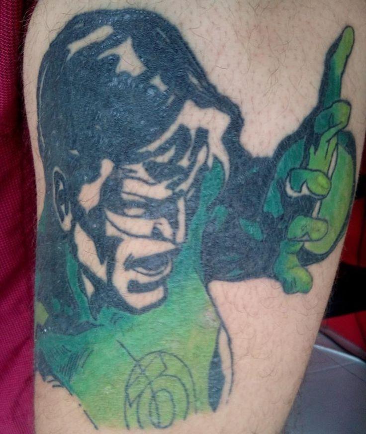 green lantern-dccomics-comics-tattoo-tatuagem-colorida-lanterna verde