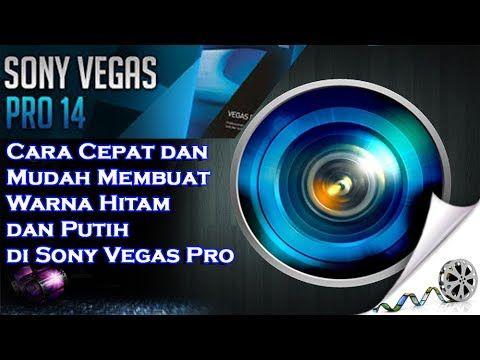Cara Cepat dan Mudah Membuat Warna Hitam dan Putih di Sony Vegas Pro 2017