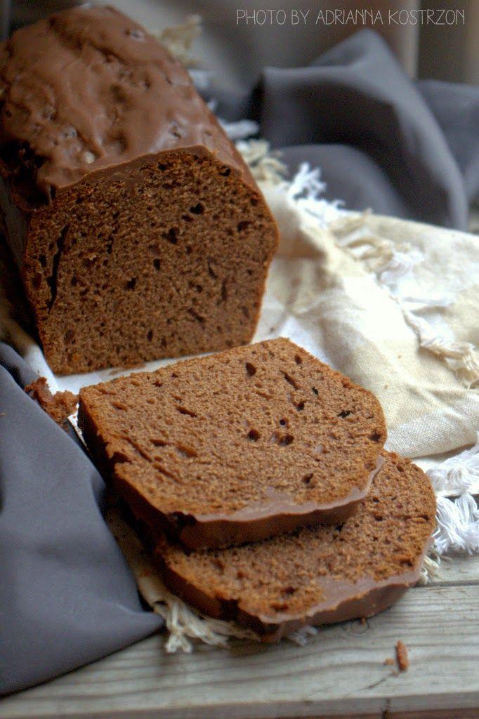Piernik czekoladowy (bez cukru) z bloga Słodkie Przyjemności #gryz