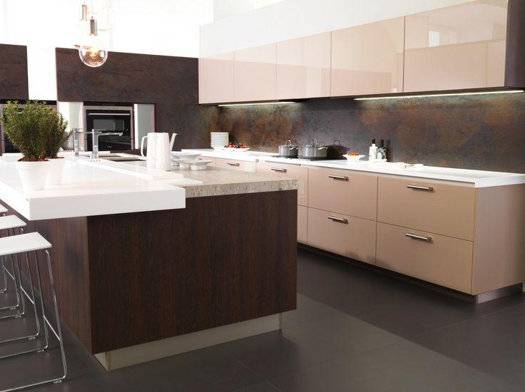 Cocinas elegantes vanguardistas atractivas y for Cocinas elegantes