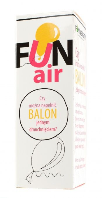 Zestaw do robienia eksperymentów FUNiversity - Czy można napełnić balon jednym dmuchnięciem?