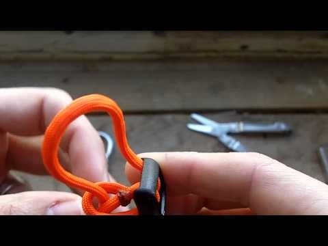 How to attach buckles and shackles on your Paracord Projects